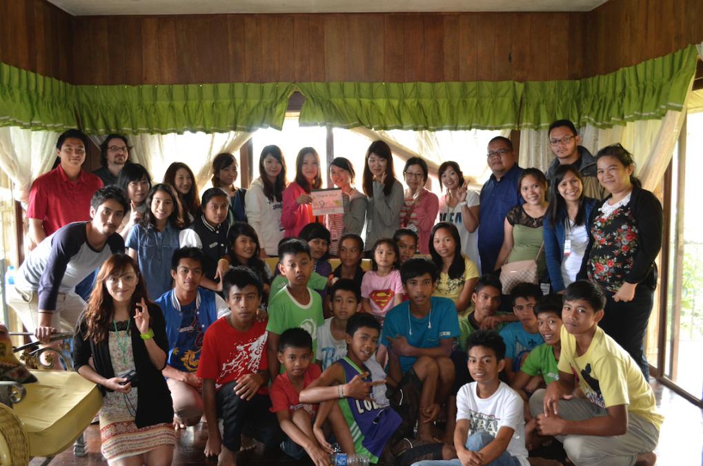 孤児院へのボランティア活動