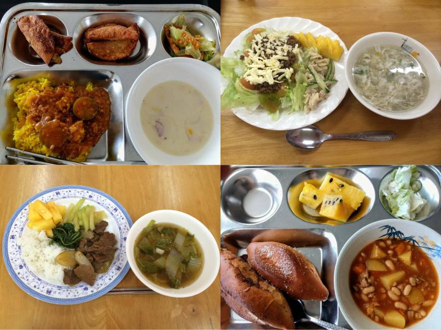 学食の一例